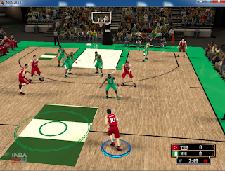 NBA 2K13 National Teams Court Mod