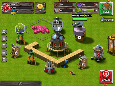 Backyard Monsters: Unleashed IOS game like Clash of Clans