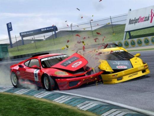 Erkek Savaşçı Araba Oyunu
