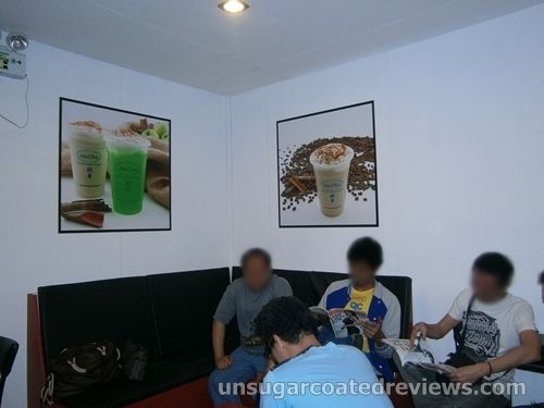 NaiCha Milk Tea interiors