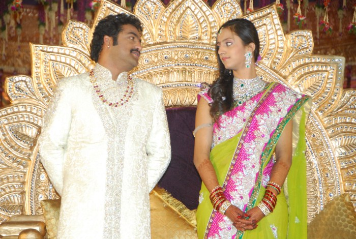Jr NTR & Lakshmi Pranathi Marriage Stills