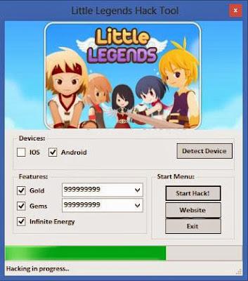 Little Legends Hack