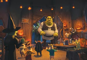 Scared Shrekless Mike Meyers animatedfilmreviews.filminspector.com