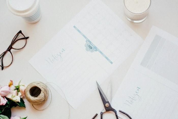 Planning para blogs mensuales gratuitos