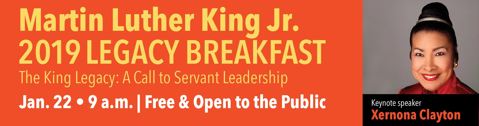 Martin Luther King Jr. 2019 Legacy Breakfast