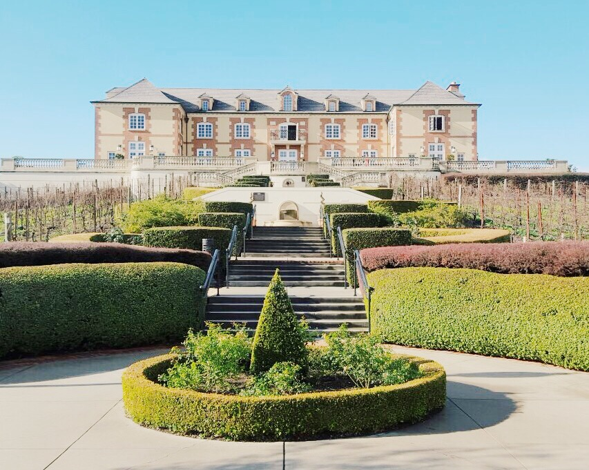 Although we only had a few hours to explore napa we popped on by domaine carneros a 15 minute drive from downtown napa early morning tastings are best