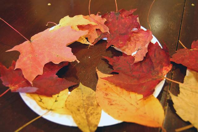 Leaf Wreaths