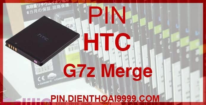 Pin điện thoại HTC G7z - Pin Galilio HTC-G7z dung lượng cao 1450 mAh - Giá 220k - Bảo hành: 6 tháng  - Pin tương thích với điện thoại HTC Merge/ my touch 4G/ Thunderbolt 4G  Thông số kĩ thuật: - Pin HTC G7z 1450 mAh được thiết kế kiểu dáng và kích thước y như pin nguyên bản theo máy, Pin tiêu chuẩn, chất lượng như pin theo máy. - Kích thước:  - Dung lượng: 1450mAh - Điện thế: 3.7V - Công nghệ: Pin Li-ion Battery