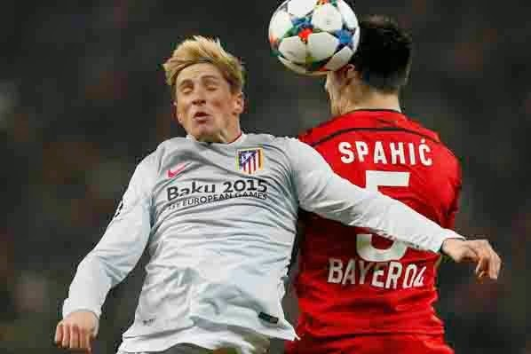 Hasil Atletico Madrid vs Bayer Leverkusen Liga champions