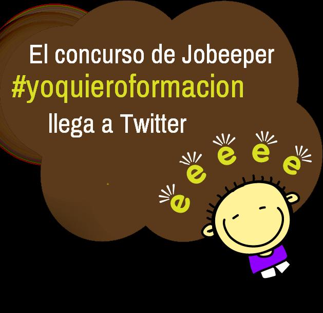concurso Jobeeper twitter