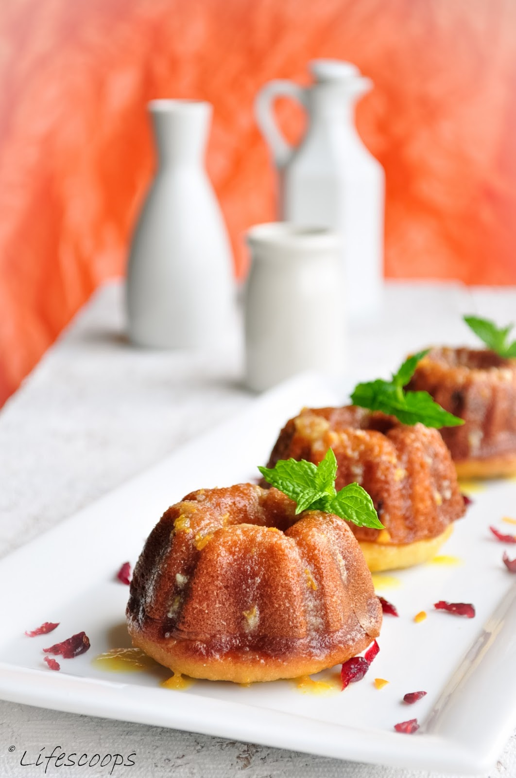 Cranberry Bundt Cake With Orange Glaze