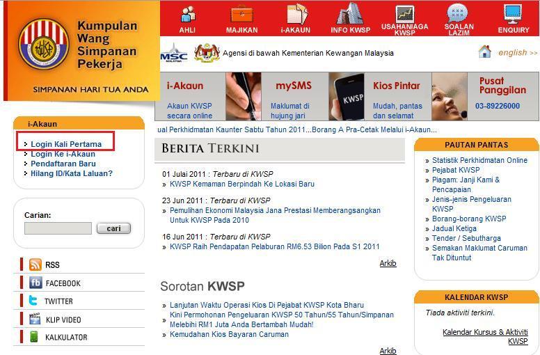 Macam Mana Nak Buka @Aktifkan i-Akaun KWSP?