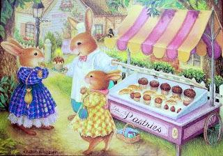 imagens para decoupage de páscoa, coelhos