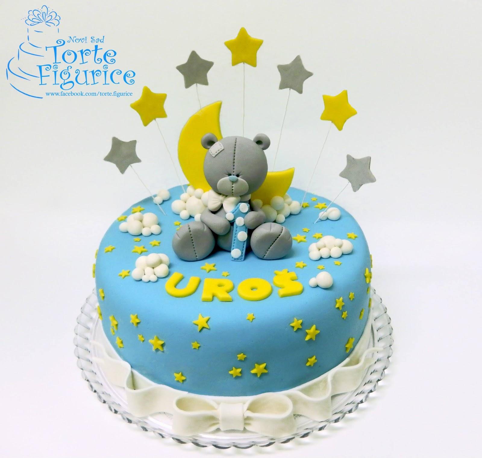 Cukerlandia torte i slatkiši : Torta sa figurom mede ...