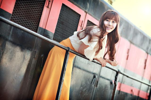 1 Im Min Young - Outdoor-very cute asian girl-girlcute4u.blogspot.com