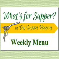 What's For Supper: Menu  August 18, 2014