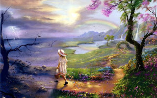top class Nature painting wallpapers