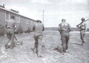 Prigionieri nel campo di Atterbury - Indiana - U.S.A.