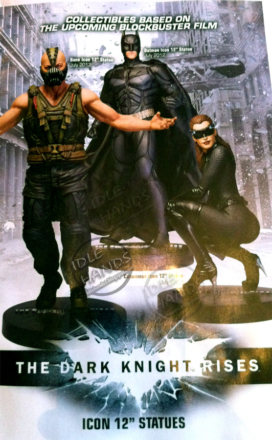 DC Direct Dark Knight Rises 12 inches statues Dark-knight-rises-statues