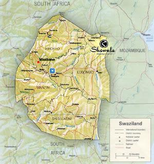 Swazi Map