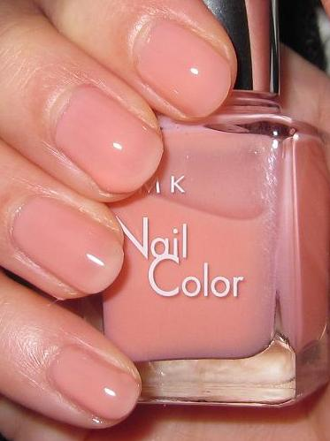 Blushed Wombat...: RMK P05 Natural Pink Beige Nail Color ... Natural Pink Nail Polish