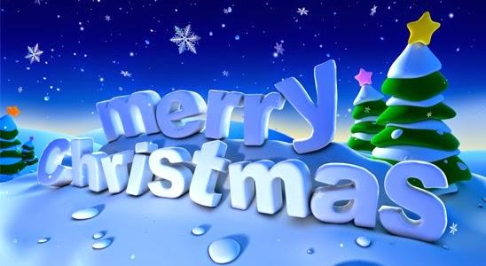 Beautiful  merry christmas photo cards