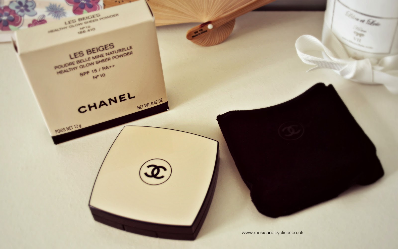 Chanel Les Beiges powder - packaging photo