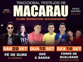 TRADICIONAL FESTEJOS DE MACARAÚ