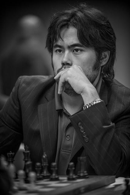 Hikaru Nakamura en el Millionaire Chess. Foto David Llada.