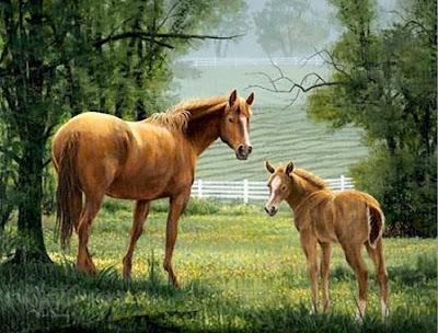 caballos-pinturas-al-oleo