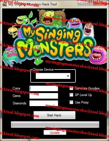 My Singing Monsters Hack Tool