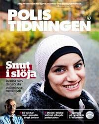 Polis Muslimah Pertama Bertudung Di Sweden