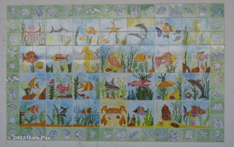 Sea themed panel