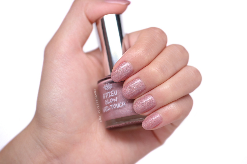 Manicure Monday: A\'Pieu Glow Nail Touch PP02 - From Head To Toe