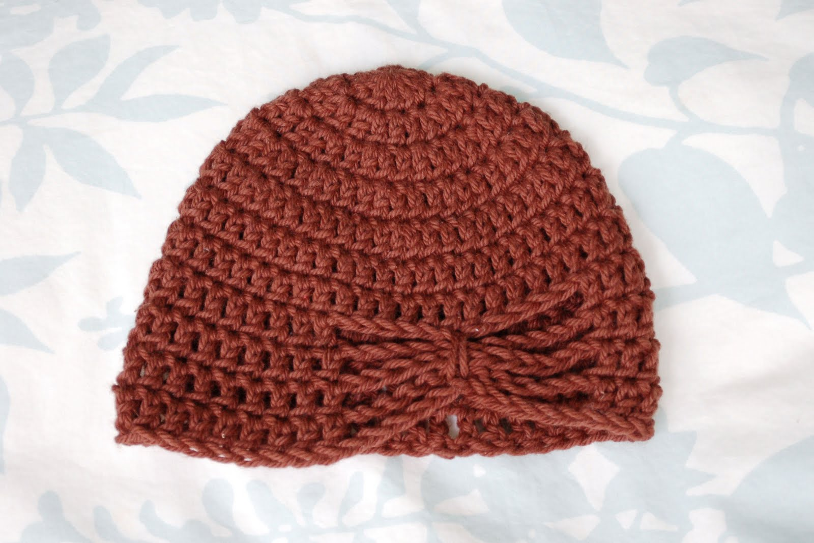 Alli Crafts: Free Pattern: Butterfly Hat - 3 months