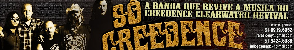SÓ CREEDENCE — Tributo Creedence & John Fogerty