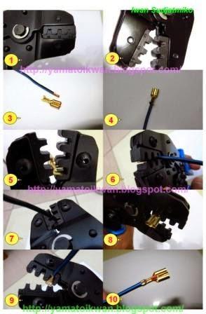Cara Penggunaan Tang Crimping