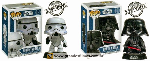 Bonecos Funko Pop Star Wars