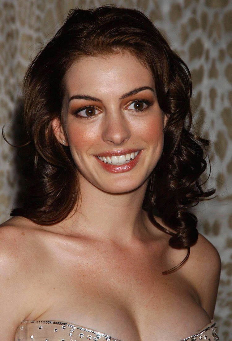 Anne Hathaway Hair Color 24