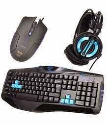 Buy E-blue 3-in-1 Gaming Combo Of Headset, Mouse And Keyboard Ekm806bl for Rs.5589 at Snapdeal