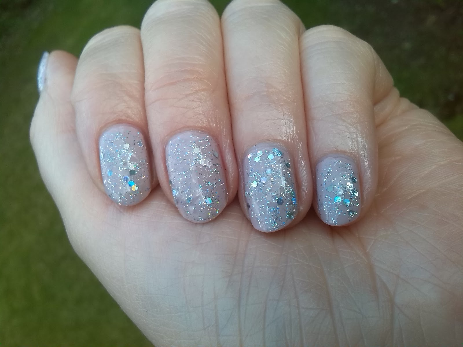 Nails Inc George Street and OPI Servin' Up Sparkle