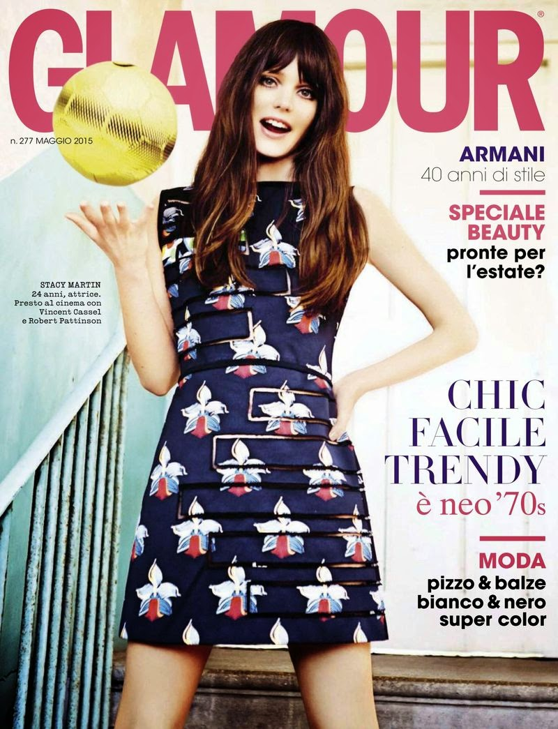 Fashion Model, Actress @ Stacy Martin - Glamour Italy, May 2015