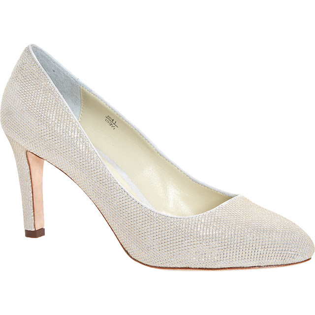 benjamin adams designer glitter wedding shoes
