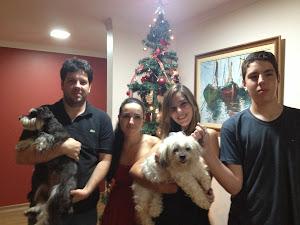 Daniele , marido e filhos