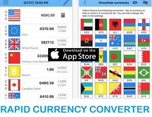 Finance App of the Month - Rapid Currency Converter