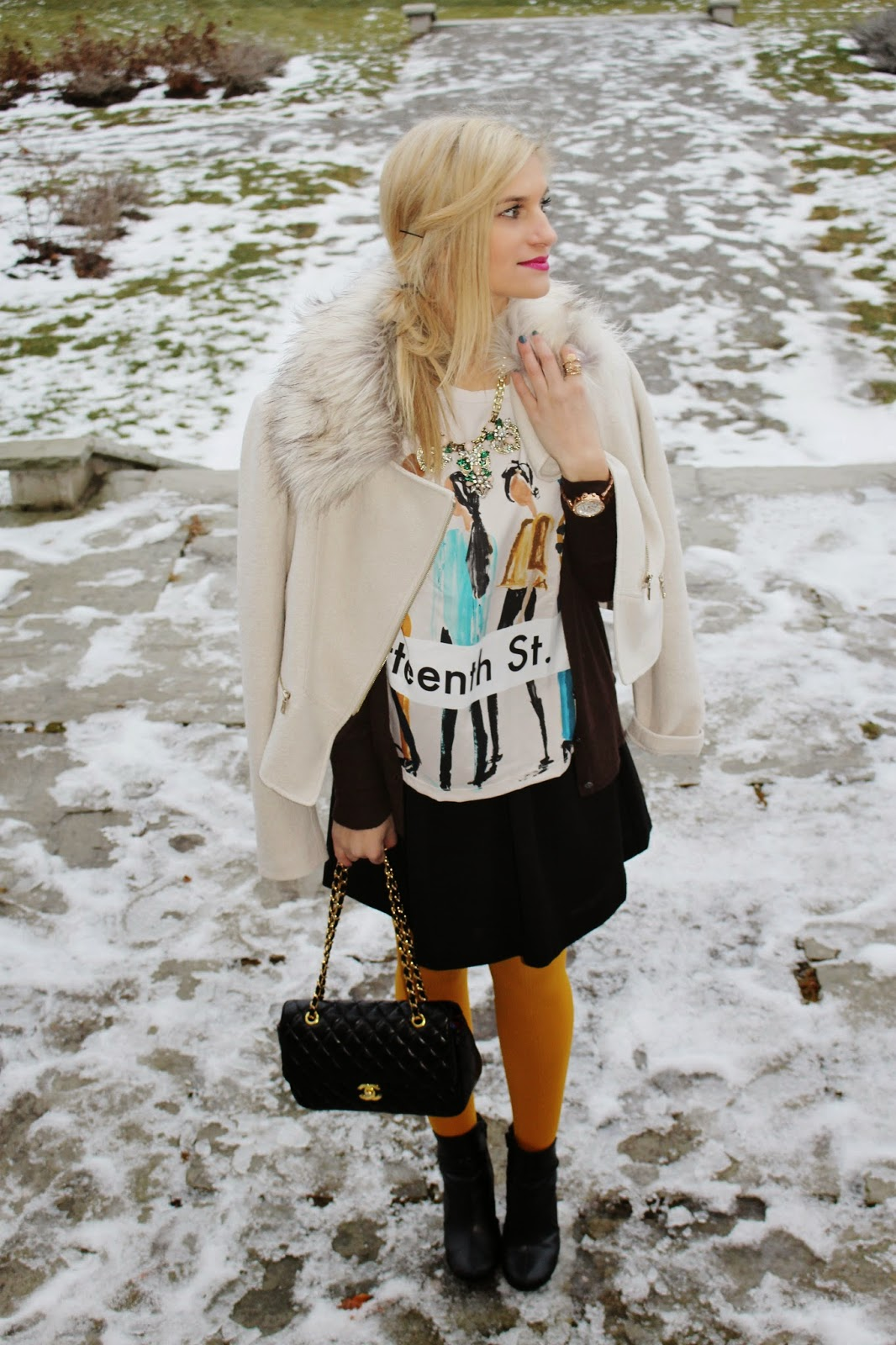 bijuleni - Ann Taylor jacket and party skirt