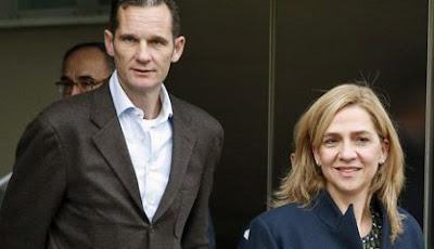 Infanta Cristina imputada caso Nóos- Urdangarín