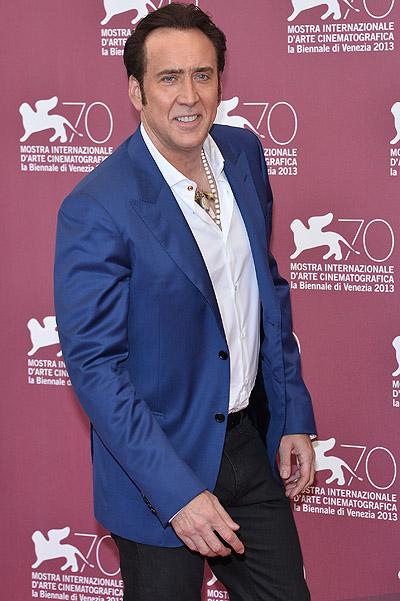 Venice 2013 : Nicolas Cage introduced ' Joe '