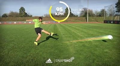Adidas Snapshot: Aplikasi Sepakbola Pengasah Skill!