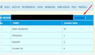 Download Prefil Dapodik